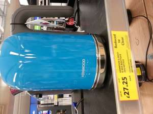 kmix kettle - £27.25 instore @ Tesco