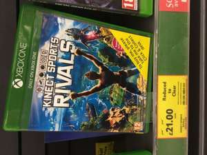 Kinect Sport Rivals £21.00 Tesco in Store Clearance