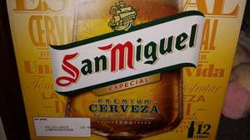 San Miguel 12x330ml £7.00 in Asda