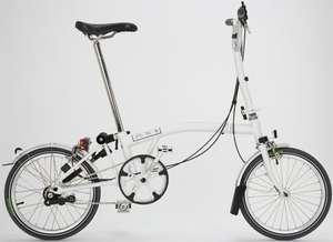 Brompton S3L Folding Bike. British built, with a unique fold & an unmatched load capacity. RRP £900, now down to £699 @ Leisure Lakes Bikes (£910 at Evans!)