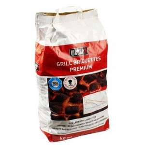 weber charcoal briquettes, 10kg bag, 9.85£ + 5.99£ delivery (regardles of how many bags ordered)
