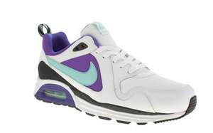 MENS LEATHER NIKE AIR MAX TRAX TRAINERS @ SCHUH SIZES 7-12 RRP £90 TO £39.99