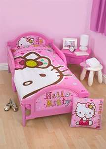 Hello kitty toddler bed £40@ matalan free delivery