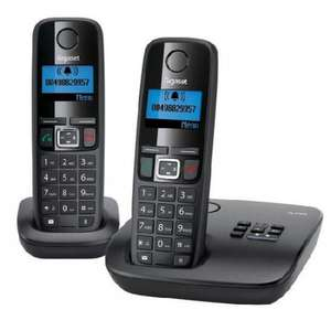 Siemens Gigaset A410A Duo Twin Digital Cordless Phone Answer Machine (ex display)  £19.99 @ cordless phone world
