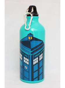 Doctor Who: TARDIS Aluminium Water Bottle £2.99 Free Delivery @ BBC Shop Was £8.99