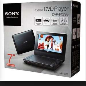 Sony portable DVD player £54.99 @ sainsburys