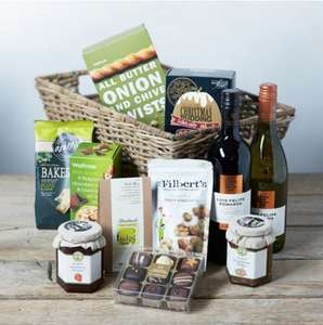 Hamper Clearance at Waitrose Online - up to 60% off range! Including Christmas Feast hamper reduced from £100 to £40.