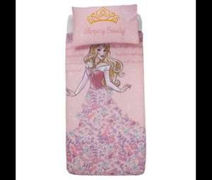 Disney sleeping beauty bedding now £7 at tesco