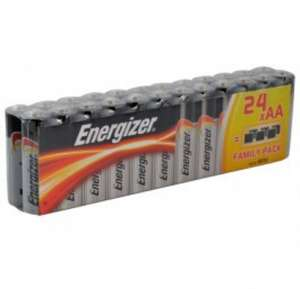 Energizer AA Batteries Multipack of 24 £6.54 @ Lawson-his