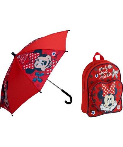 Disney Doc McStuffins Girls' Bag and Umbrella Set £6.99 was £13.49/Minnie mousemouse girls back pack & umbrella set £7.99 was £14.99 @argos