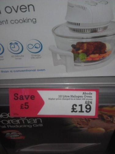 12Litre Halogen Oven £19 @ Morrisons