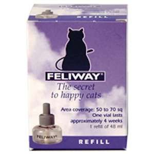 2 x Feliway Diffuser Refills 48ml for £20.98. (Cat calming atomiser) @ Petmeds