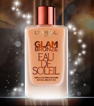 FREE L'Oreal Glam Bronze Eau De Soleil Liquid Bronzer