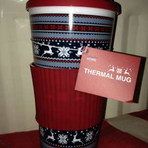 Primark thermal travel mug £1