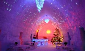 Ice Hotel Experience: 3 or 4 Nights With Breakfast, Transfers and Activities from £199 Per Person-Transylvania-Dracula castle may be visited @ Groupon