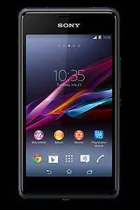 "Sony Xperia E1 White or Black 4"" Android Mobile Phone £24.99 Upgrade @ Carphone Warehouse with FREE Delivery"