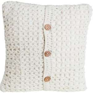 Heart of House Victoria Cushion - Cream - Was £9.99! - Now £3.99! @ Argos