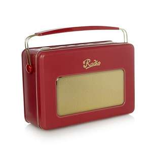 Retro radio biscuit tin gift set (various colours) £3.00 [70% off RRP] @ Debenhams + 6% quidco