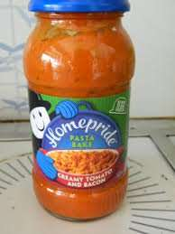 Homepride Pasta Bake Sauces just 59p at B&M