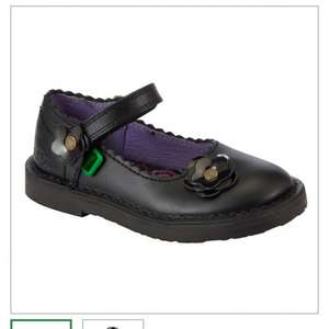 Kickers girls school shoes £20 John Lewis