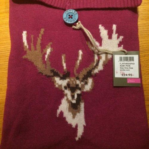 Joules ipad knitted case £6.24 john Lewis Instore Welwyn