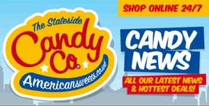 Free Delivery @ the Stateside candy company (Americansweets.co.uk)