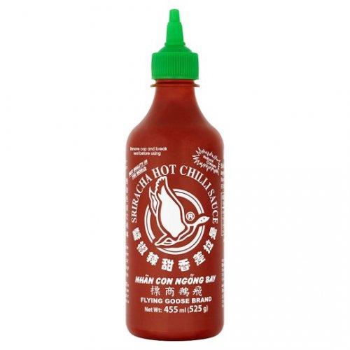 Sriracha hot chilli sauce (flying goose brand) £2.50 now sold in Tesco