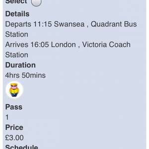 Trips to London from Various UK Locations from £2 at Megabus +  50p booking fee