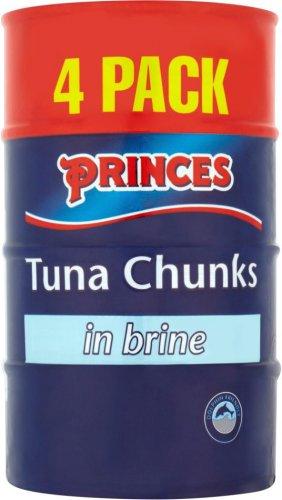Princes Tuna Chunks Brine/Sunflower Oil/ Spring Water 4 x 160g now £2.49 @ Morrisons