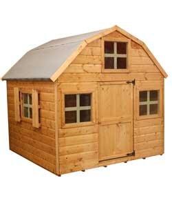 Argos.Mercia Garden Products 6x6 Dutch Style Playhouse. £189.99 free/del.