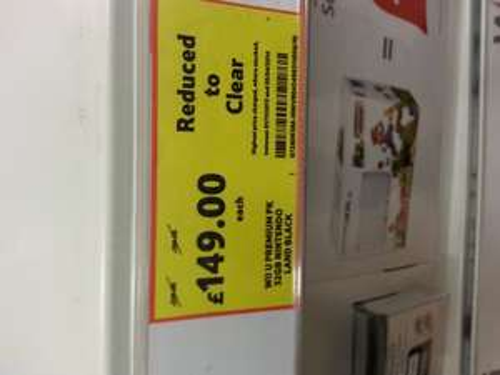 New Wii U Premium 32gb black with Nintendo land £149 @ Tesco