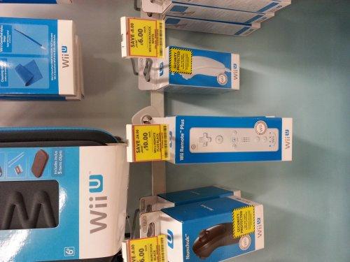 New Wii U Remote Plus in white @ Tesco £10