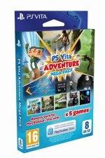 ps vita Adventure Mega Pack with 8GB memory card (5 games) £24.47 @ gamestop