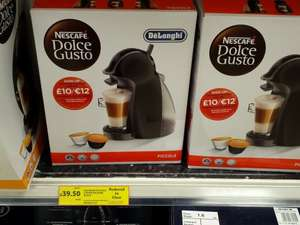 Dolce Gusto coffee maker £39.50 @ Tesco In store