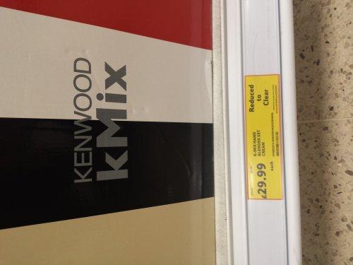 kmix hand blender £29.99 @ Tesco instore