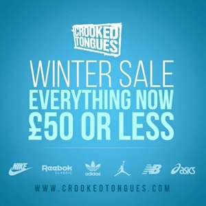 Crooked Tongues Everything Is £50 or Less