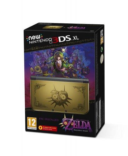 NEW 3DS XL Zelda Majoras Mask with pre-installed software Legend of Zelda: Majora's Mask Pre-order @ Amazon UK £224.99