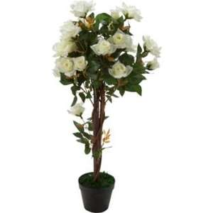 artificial white rose tree - for home, garden or wedding decoration - £16.99 @ Argos
