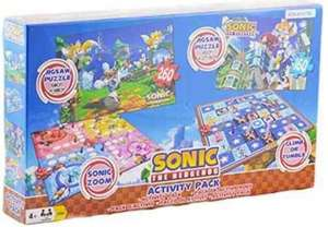Sonic the Hedgehog Board Game Activity Pack £14.97 delivered @ Amazon