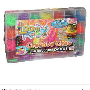 loom band kit £1.99 down from £3.99 at Argos!!