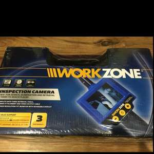 Workzone Inspection Camera only £22.50 @ Aldi