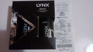 Lynx Peace Gift Set £1.50 @ Asda