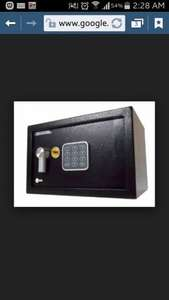 Small yale safe £15 instore at B&Q