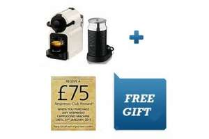 Nespresso Inissia + Aeroccino - £105.90 @  Go Electrical - Includes £75 Nespresso Club Reward!