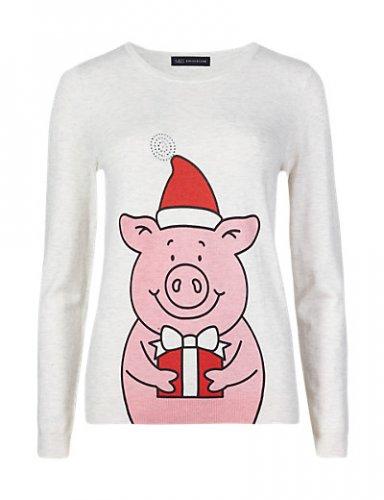 M&S Percy Pig Xmas Jumper £1.99 at M&S