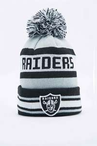 Oakland Raiders New Era bobble hat was £28 reduced to £5 @ Urban Outfitters