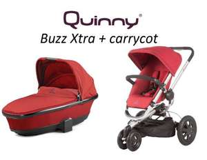 Quinny Buzz xtra and carrycot was £610 now £375 at tonykealys.co.uk