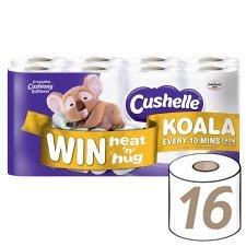 Cushelle Toilet Rolls, 16 pack, RTC £3.86 @ Tesco instore