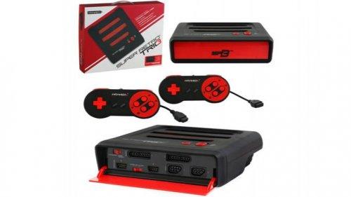 Retro Bit Super Retro Trio 3 in 1 Console (Red/Black) £59.99 Delivered @ Gameseek