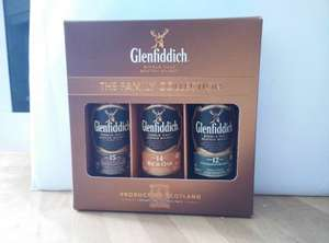 Glenfiddich Three 5cl bottles 12 year old,  14 year old and 15 year old  - The Family Collection £6 @ Tesco instore